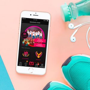 Diseño de Bravento Sports App